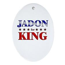 JADON for king Oval Ornament