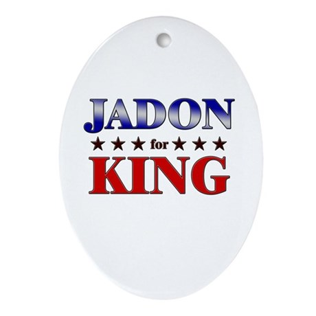 JADON for king Oval Ornament