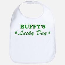 BUFFY - lucky day Bib