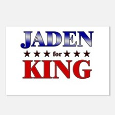 JADEN for king Postcards (Package of 8)