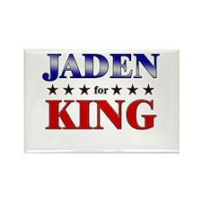 JADEN for king Rectangle Magnet