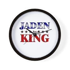JADEN for king Wall Clock