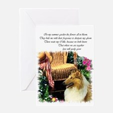 Collie Art Gifts Greeting Card