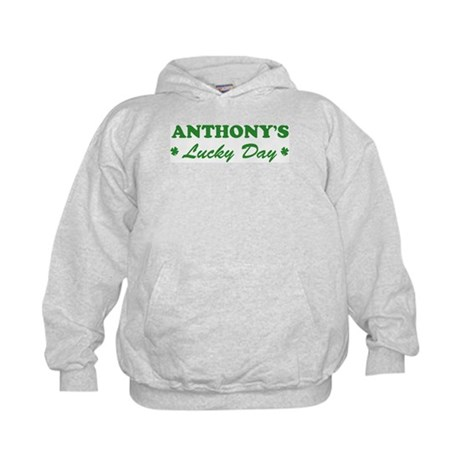 ANTHONY - lucky day Kids Hoodie