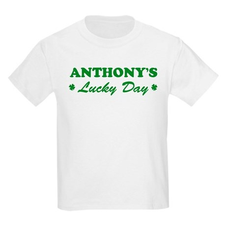 ANTHONY - lucky day Kids Light T-Shirt
