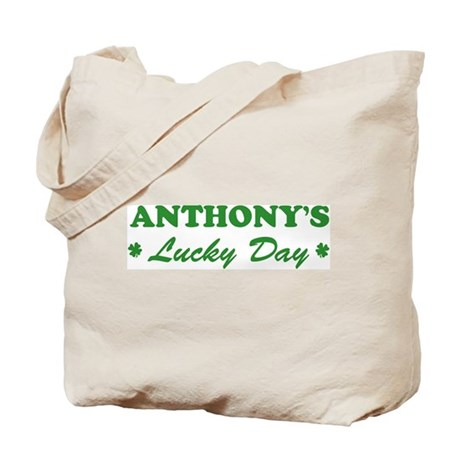 ANTHONY - lucky day Tote Bag
