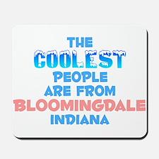 Coolest: Bloomingdale, IN Mousepad