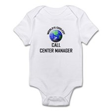 World's Coolest CALL CENTER MANAGER Infant Bodysui