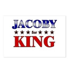 JACOBY for king Postcards (Package of 8)