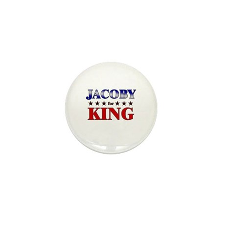 JACOBY for king Mini Button (10 pack)