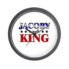 JACOBY for king Wall Clock
