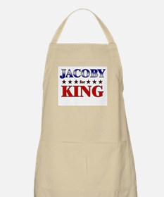 JACOBY for king BBQ Apron