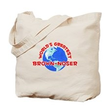 World's Greatest Brown.. (F) Tote Bag