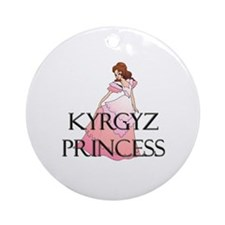 Kyrgyz Princess Ornament (Round)