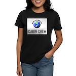 World's Coolest CABIN CREW Women's Dark T-Shirt