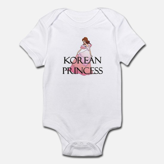Korean Princess Infant Bodysuit