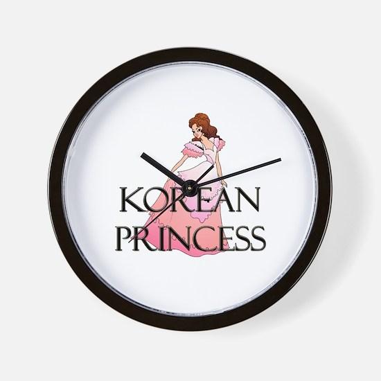 Korean Princess Wall Clock