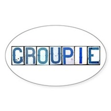 Groupie Oval Decal
