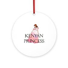 Kenyan Princess Ornament (Round)