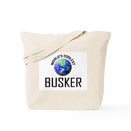 World's Coolest BUSKER Tote Bag