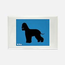 Spaniel iPet Rectangle Magnet (100 pack)