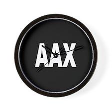 AAX Wall Clock