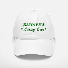 BARNEY - lucky day Baseball Baseball Cap