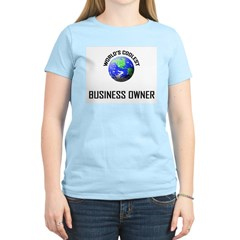 World's Coolest BUSINESS OWNER T-Shirt