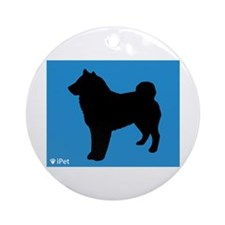 Sheepdog iPet Ornament (Round)