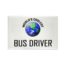 World's Coolest BUS DRIVER Rectangle Magnet