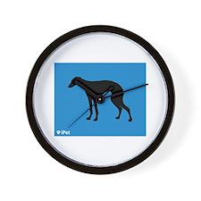 Greyhound iPet Wall Clock