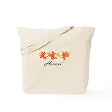 Plumeria Band Tote Bag
