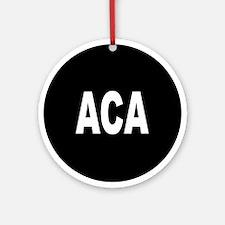 ACA Ornament (Round)