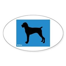 Pointer iPet Oval Decal