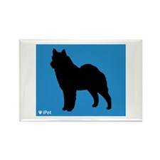 Lapphund iPet Rectangle Magnet (10 pack)