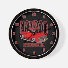 Redneck Hot Rod Wall Clock