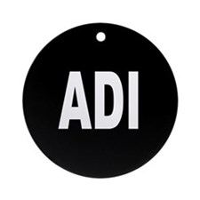 ADI Ornament (Round)