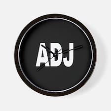 ADJ Wall Clock
