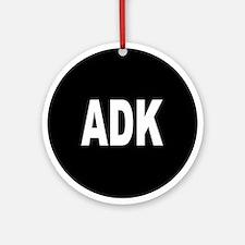 ADK Ornament (Round)