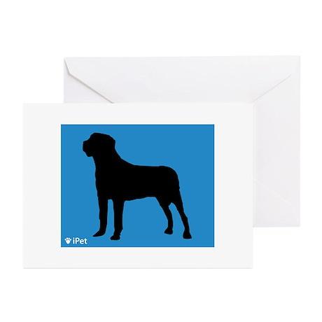 Mastiff iPet Greeting Cards (Pk of 10)