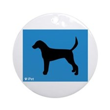 Foxhound iPet Ornament (Round)