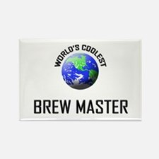 World's Coolest BREW MASTER Rectangle Magnet