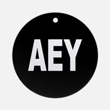AEY Ornament (Round)