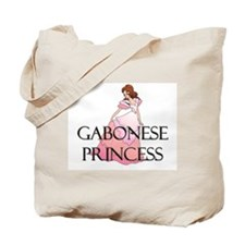 Gabonese Princess Tote Bag