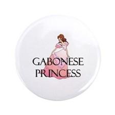 "Gabonese Princess 3.5"" Button"