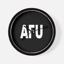 AFU Wall Clock