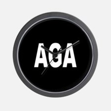 AGA Wall Clock