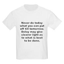 Burr quotation T-Shirt