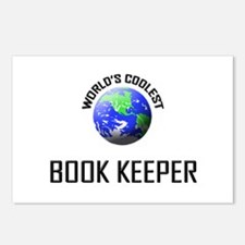 World's Coolest BOOK KEEPER Postcards (Package of
