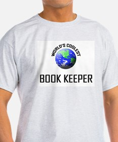 World's Coolest BOOK KEEPER T-Shirt